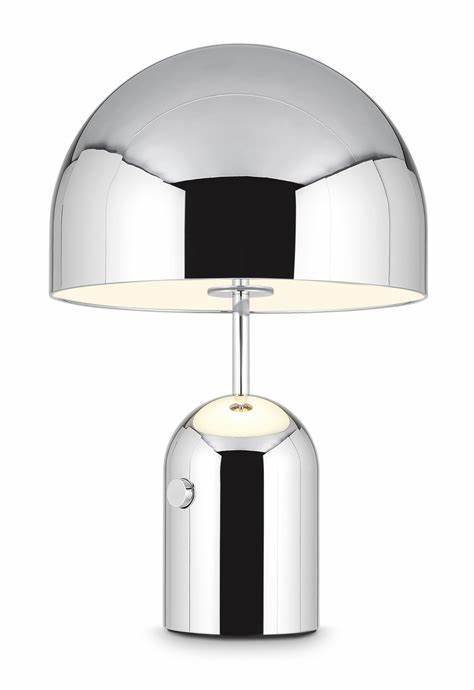 BELL TABLE CHROME LARGE